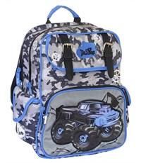 Рюкзак школьный De Lune Внедорожник милитари 51-04 синий