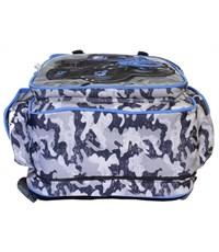 Фото 5. Рюкзак школьный De Lune Внедорожник милитари 51-04 синий