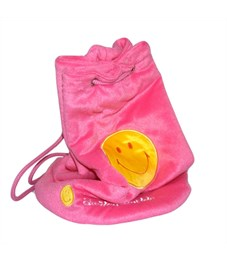 Рюкзак декоративный Flavio Ferrucci Смайлик розовый