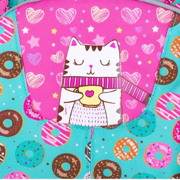 """Рюкзак детский Berlingo """"Candy"""" 34,5*26*14см, 2 отделения, 4 кармана, уплотненная спинка"""