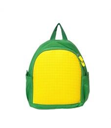 Рюкзак детский пиксельный Upixel MINI Backpack WY-A012 Зеленый-Желтый