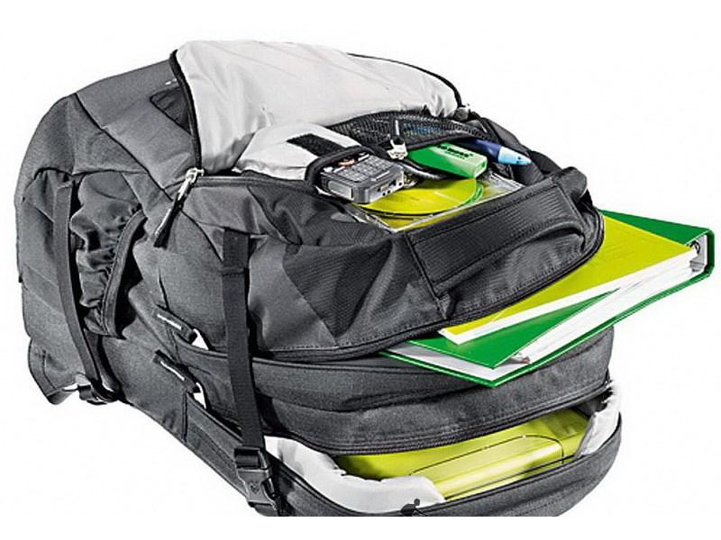 Рюкзак школьный Deuter GIGA Bike Серо-чёрный