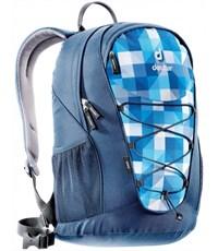 Рюкзак Deuter GoGo сине-голубая клетка