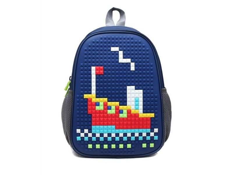 Рюкзак дошкольный 4ALL Case Mini Пароход синий