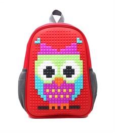 Рюкзак дошкольный 4ALL Case Mini Сова красный