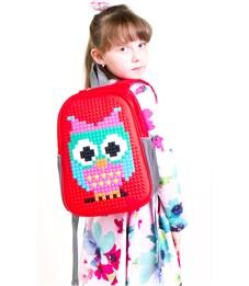 Фото 5. Рюкзак дошкольный 4ALL Case Mini Сова красный