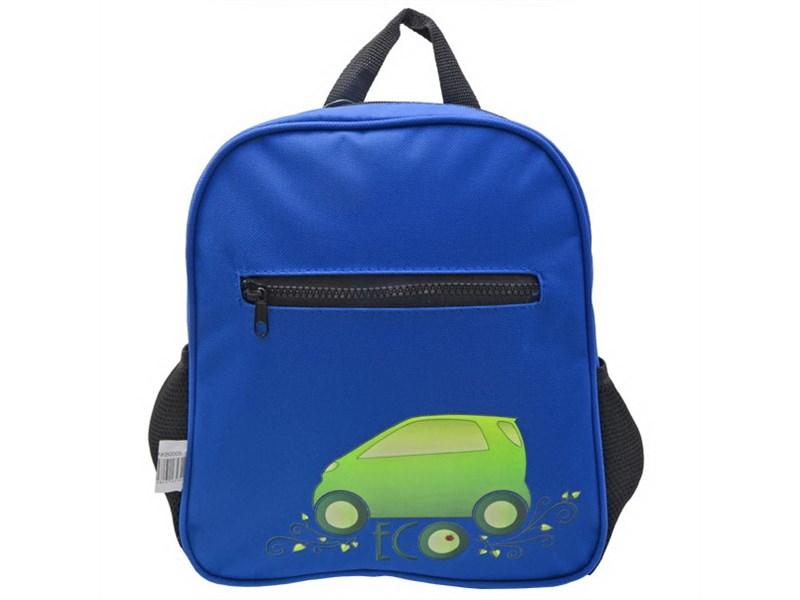Рюкзак дошкольный Action! AKB0009 синий с зеленой машиной