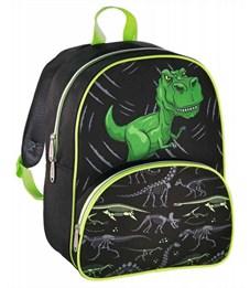 Рюкзак дошкольный Hama Dino черный/зеленый