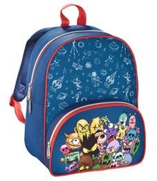 Рюкзак дошкольный Hama Monsters синий/красный