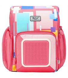 Рюкзак Funny Square School Bag WY-U18-7 Розовый