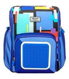 Рюкзак Funny Square School Bag WY-U18-7 Синий