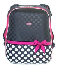 Фото 2. Школьный рюкзак Mike Mar Бантик т.синий-белый горох