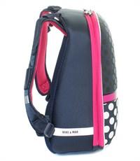 Фото 3. Школьный рюкзак Mike Mar Бантик т.синий-белый горох