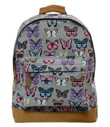 Рюкзак молодежный Action! AB2010 Бабочки серый