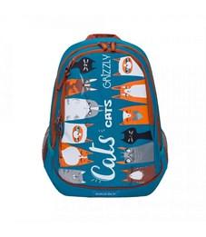 Рюкзак молодежный Grizzly RD-832-1 бирюзовый