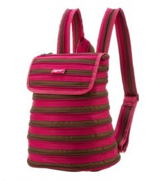Рюкзак молодежный Zipit Zipper розовый-коричневый