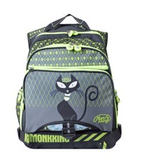 Рюкзак Monkking MK-C5061 серый-зеленый