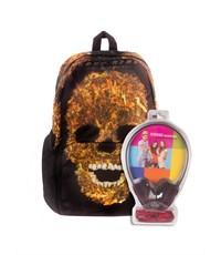 Рюкзак школьный 3D Bags Призрачный гонщик с наушниками