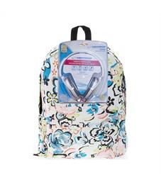 Рюкзак школьный 3D Bags Цветы с наушниками