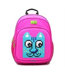 Рюкзак школьный 4ALL KIDS Кот розовый-розовый