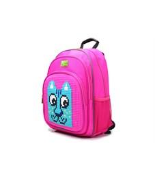 Фото 2. Рюкзак школьный 4ALL KIDS Кот розовый-розовый