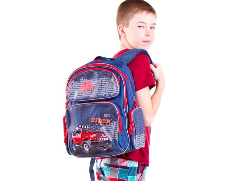 Рюкзак школьный 4ALL SCHOOL Джип RIDER
