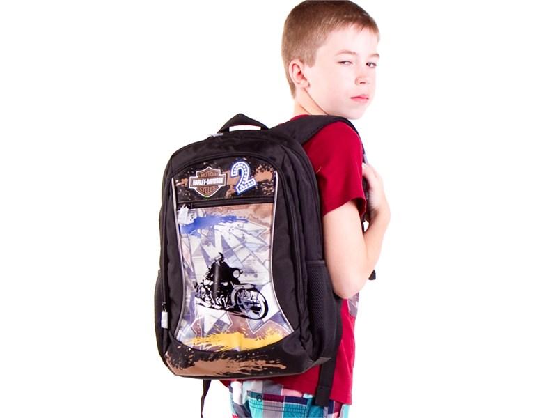 Рюкзак школьный 4ALL SCHOOL Харлей Девидсон