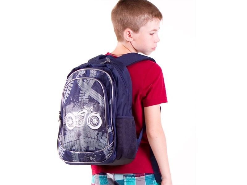 Рюкзак школьный 4ALL SCHOOL Мотобайк