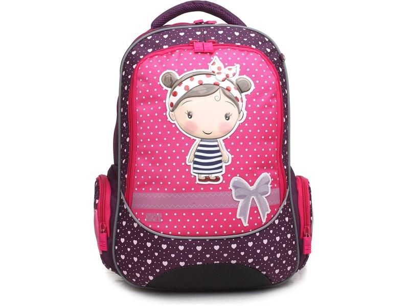 Рюкзак школьный 4ALL School RU18-04 Девочка