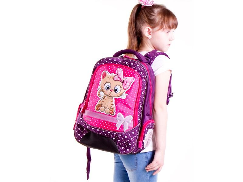 Рюкзак школьный 4ALL School RU18-05 Кот