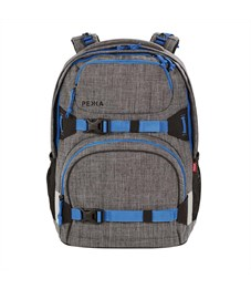 Рюкзак школьный 4YOU Pekka Pixels Grey