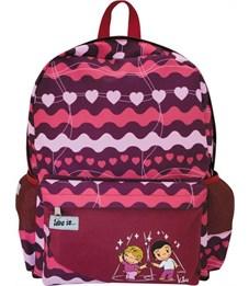 Рюкзак школьный Action! Love is... красный