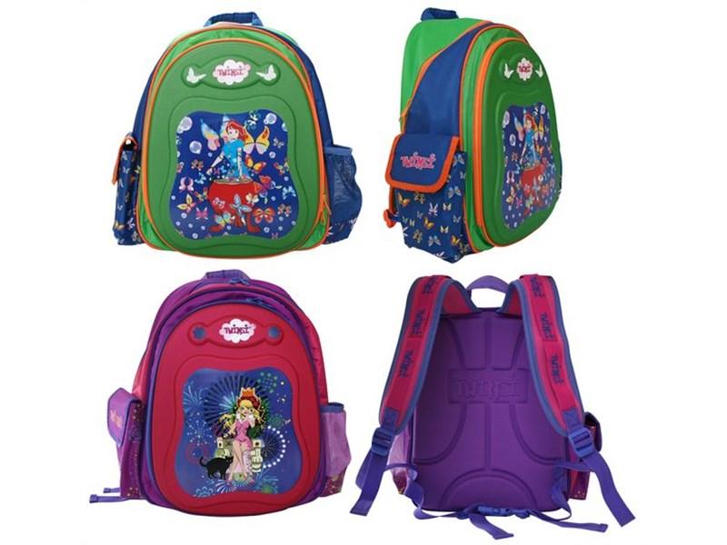 Рюкзак школьный Action! Twinsi зелёно-синий