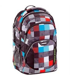 Рюкзак школьный Coocazoo JobJobber2 Checkmate Blue Red