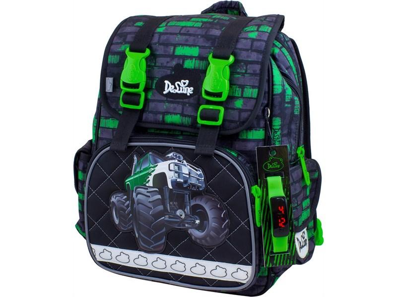 Рюкзак школьный DeLune 52-19 Monster Truck
