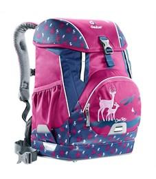 Фото 2. Рюкзак школьный Deuter OneTwo Пурпурный олень с наполнением