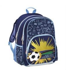 Рюкзак школьный Hama Soccer синий