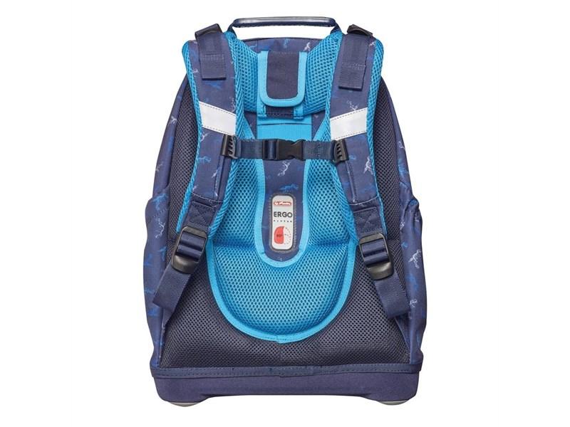Рюкзак школьный Herlitz Bliss Blue Dino