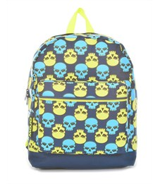 Рюкзак школьный Mojo Brite Skull Checker