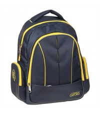 Рюкзак школьный Oxford X 085 синий/желтый