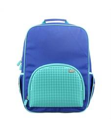 Рюкзак школьный пиксельный Upixel Bright Colors WY-A022-a Голубой