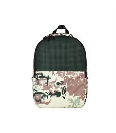 Рюкзак школьный пиксельный Upixel Camouflage Backpack WY-A021 Зеленый
