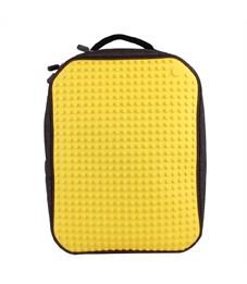 Рюкзак школьный пиксельный Upixel Canvas Classic WY-A001 Желтый