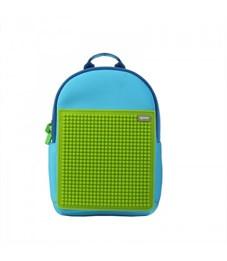 Рюкзак детский пиксельный Upixel Rainbow Island WY-A027 Голубой-Зеленый
