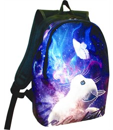Рюкзак школьный молодежный Stavia Кошка (космос)