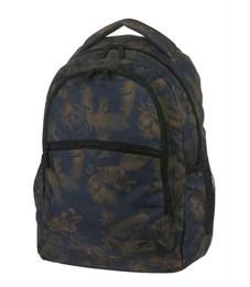 Рюкзак молодежный Walker Base Classic Dark Flowers цветы