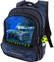 Рюкзак школьный Winner 8031 + брелок-мячик