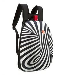 Рюкзак школьный Zipit Shell Backpacks чёрный-белый