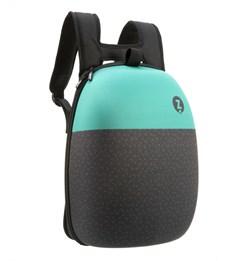 Рюкзак школьный Zipit Shell Backpacks чёрный-бирюзовый