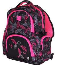 Рюкзак WinMax К-380 черно-розовый